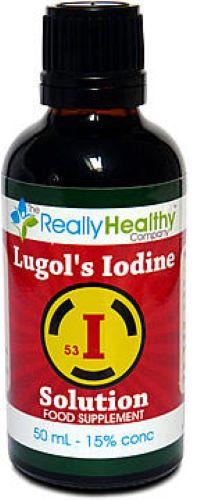Lugols Iodine 15% 50ml