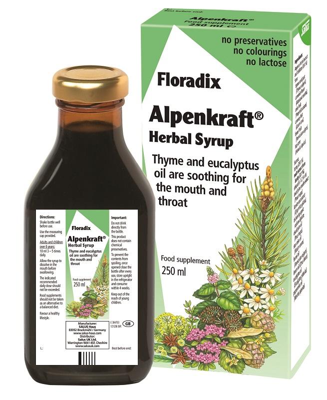 Alpenkraft Herbal Syrup 250ml