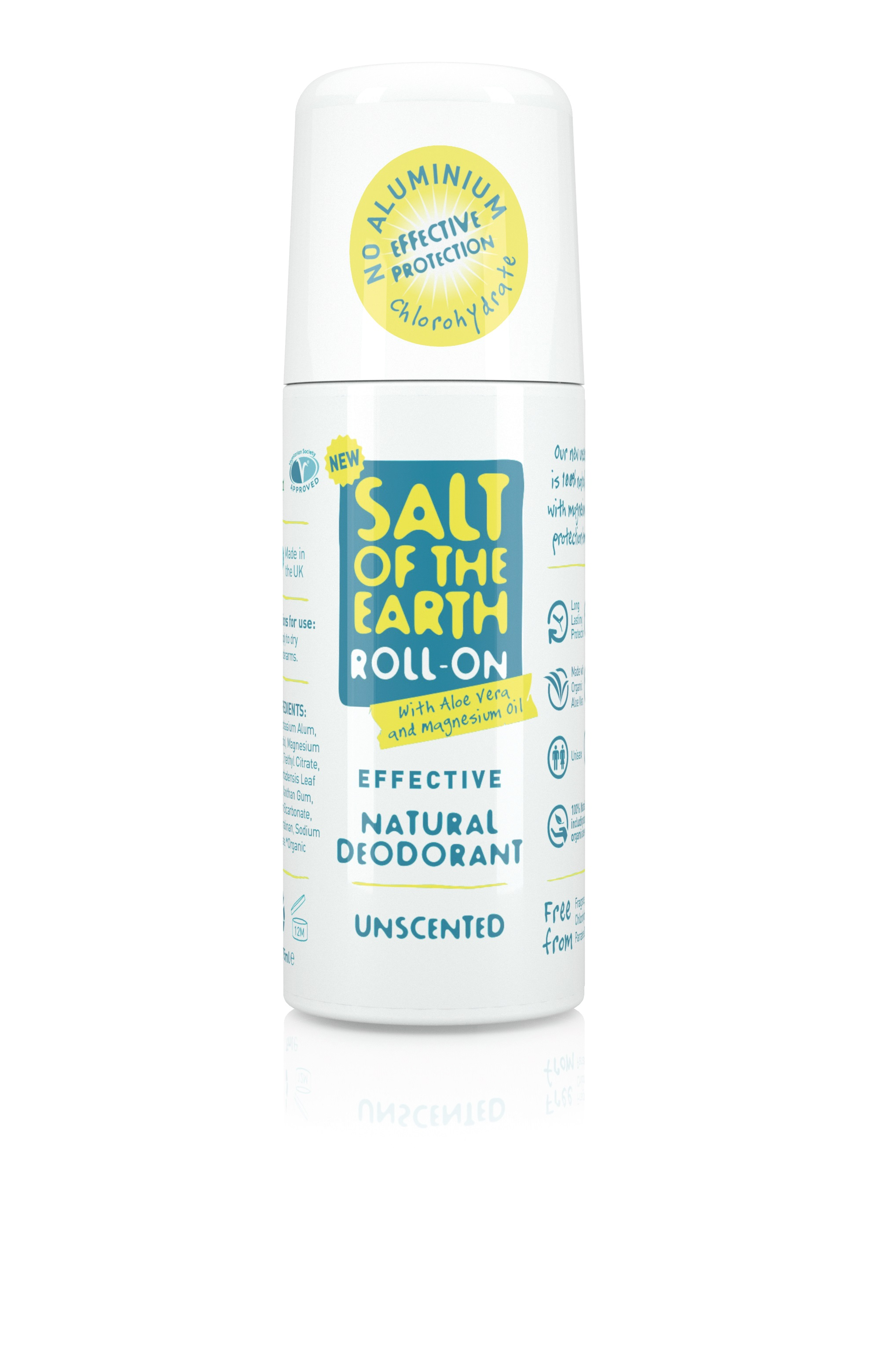 Unscented Deodorant Roll-On 75ml