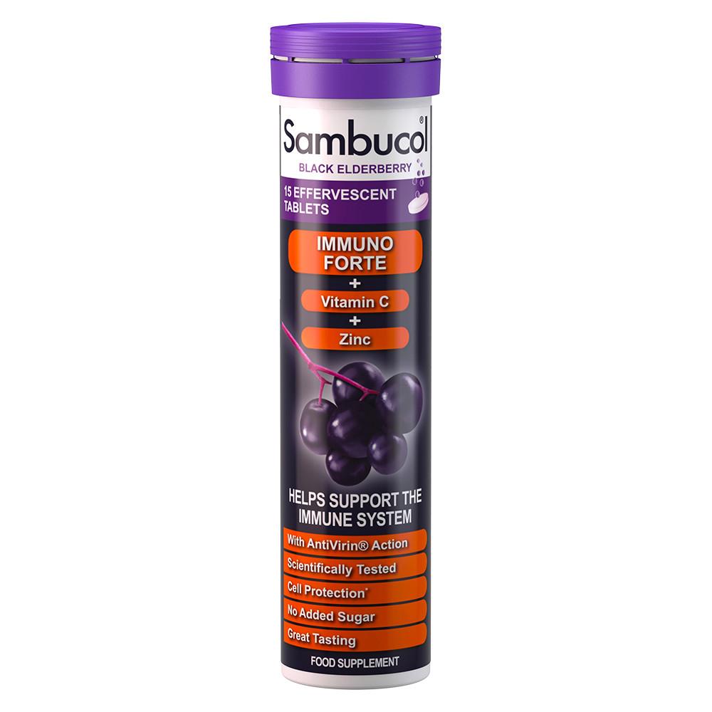 Sambucol Effervescent 15 tablets