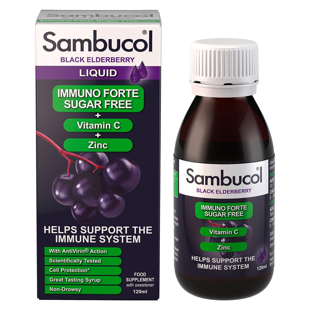 Sambucol Sugar Free Immuno Forte 120ml