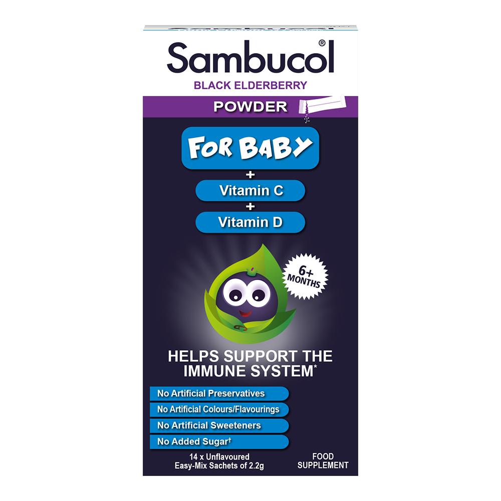 Powder For Baby + Vitamin C + Vitamin D 14 Sachets
