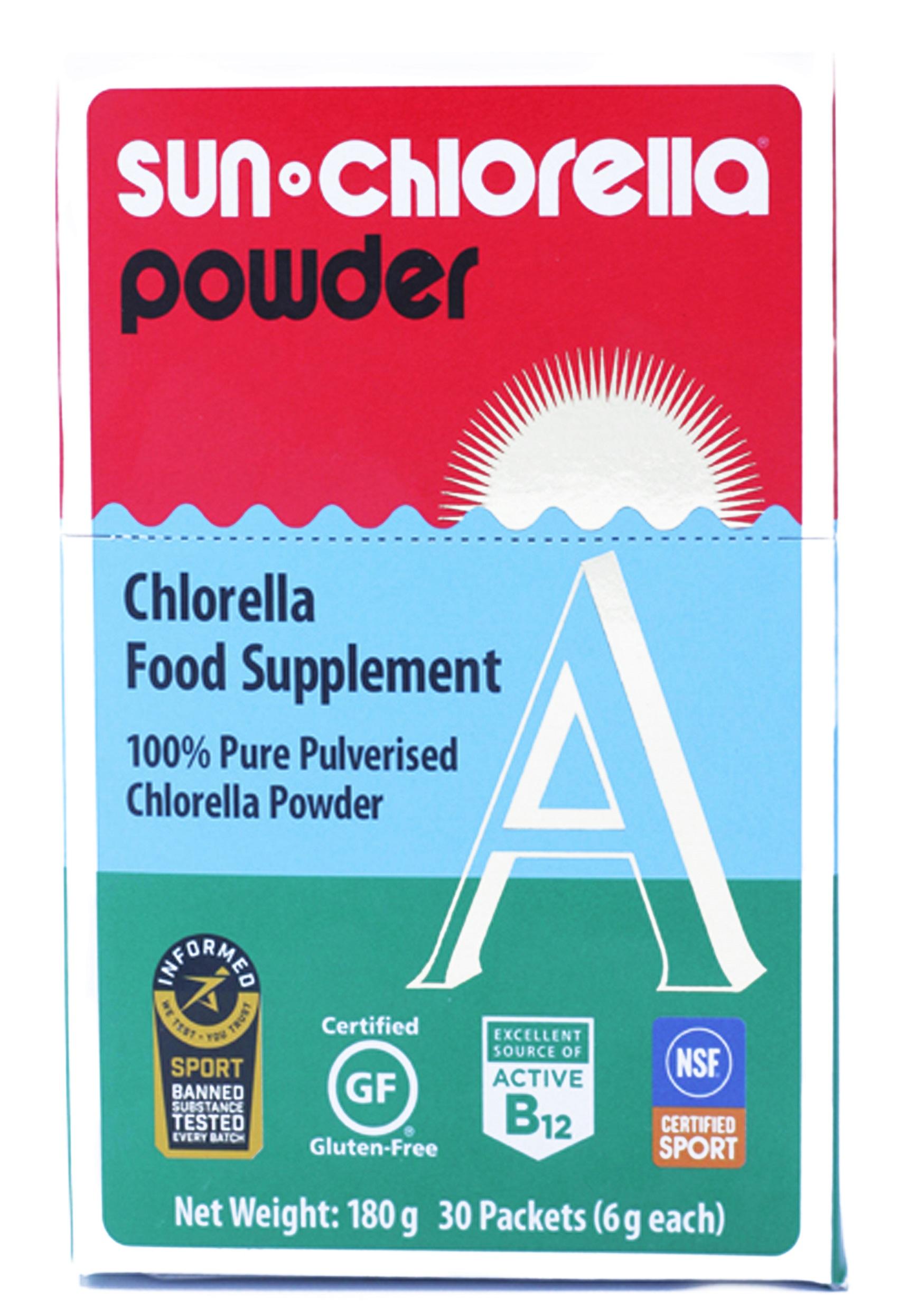 Sun Chlorella A Powder 6g 30's