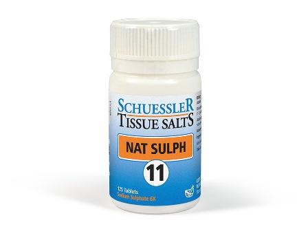 11 Nat Sulph 125 tablets