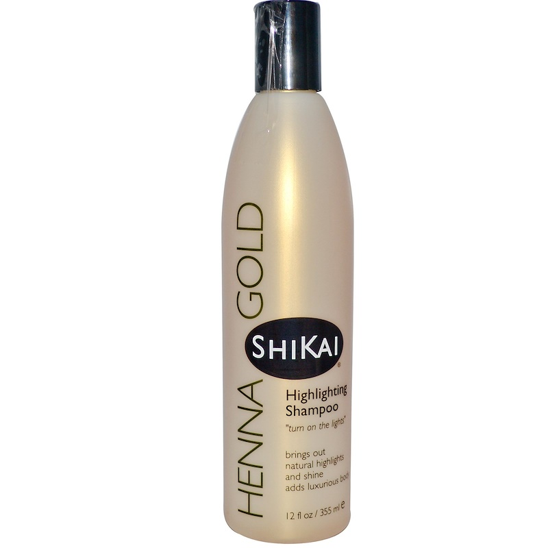 Highlighting Shampoo Henna Gold 355ml