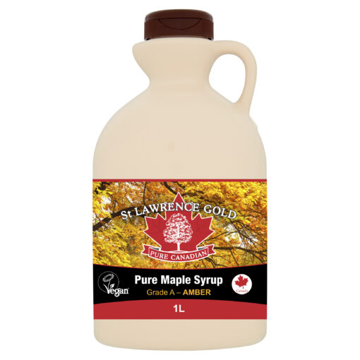 Pure Canadian Maple Syrup Grade A Amber 1L