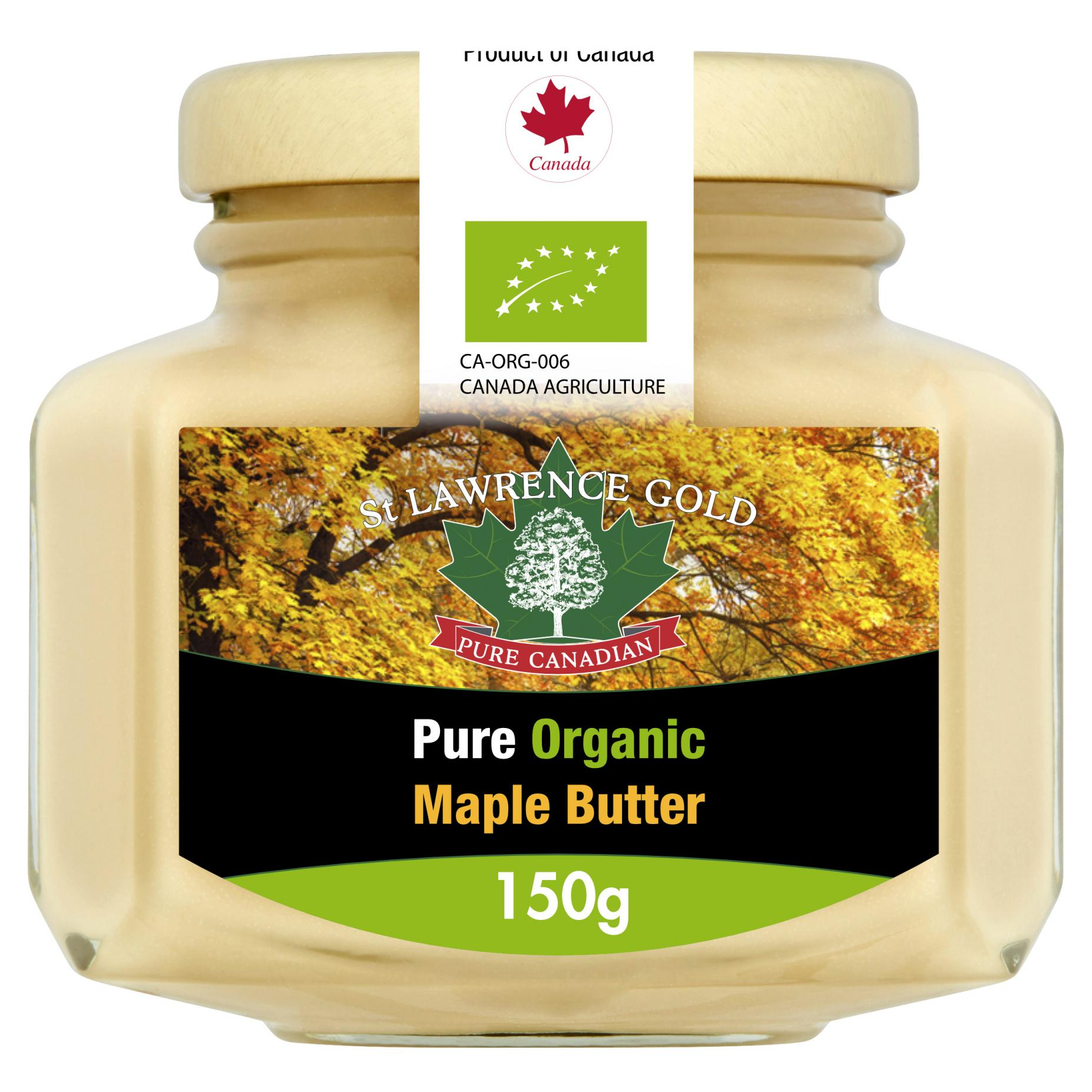 Pure Organic Maple Butter 150g