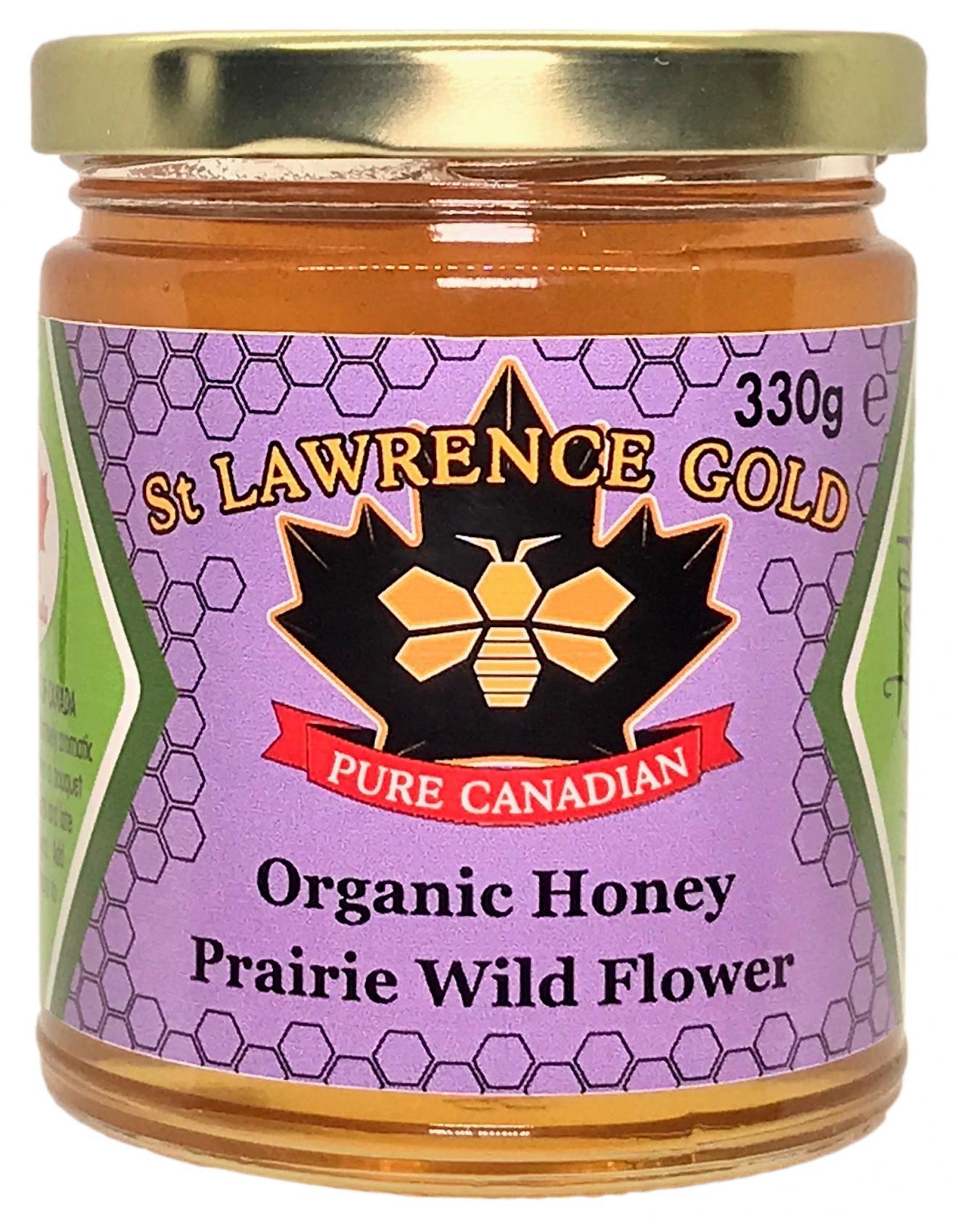 Pure Canadian - Organic Honey Prairie Wild Flower 330g