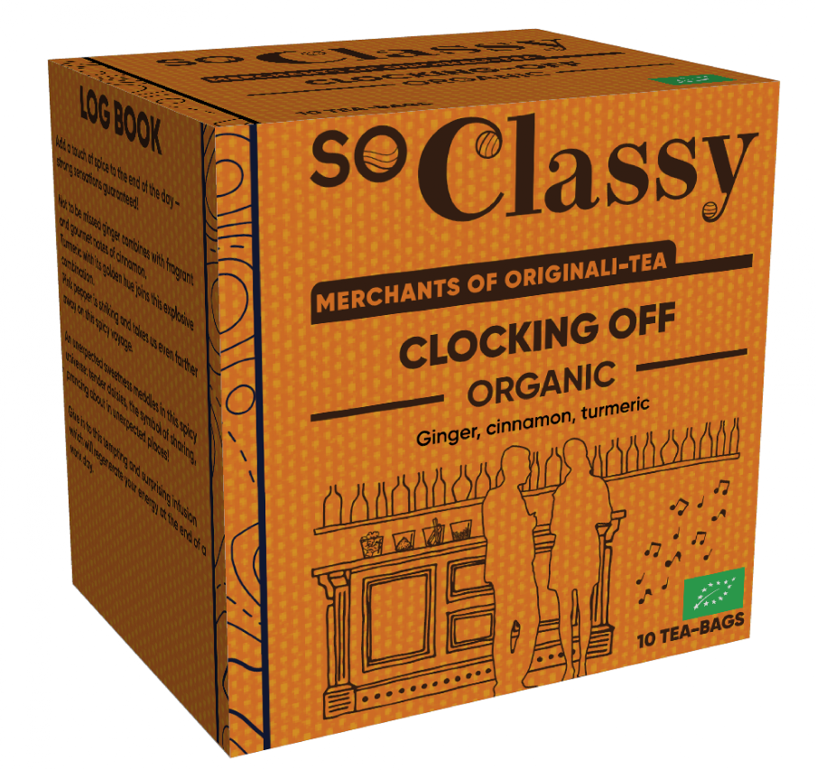 Clocking Off Organic Teabags 10's (Launching in June (Currently Unavailable)