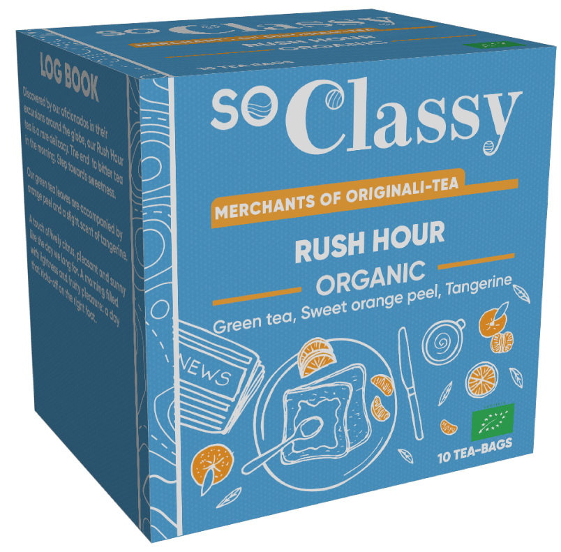 Rush Hour Organic Teabags 10's (Launching in June) (Currently Unavailable)
