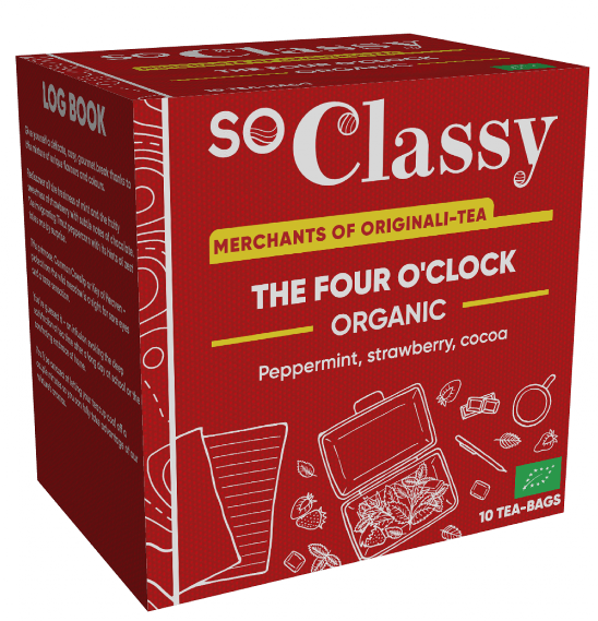 The Four O'Clock Organic Teabags 10's (Launching in June) (Currently Unavailable)