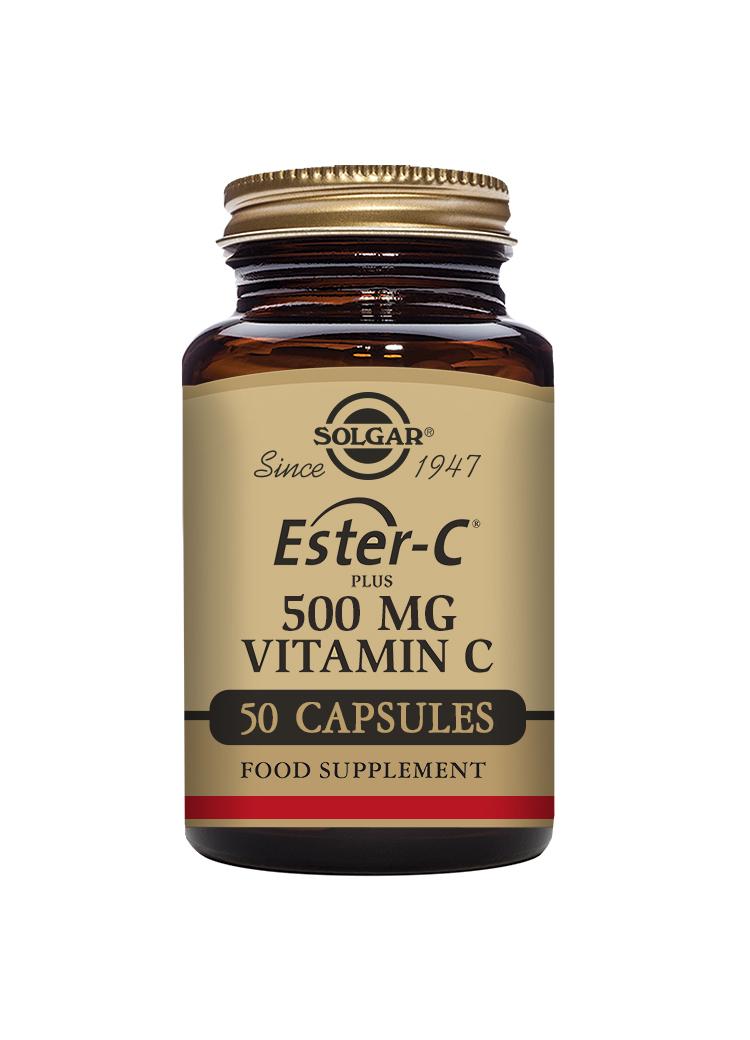 Ester-C Plus 500mg Vitamin C 50's (CAPSULES)