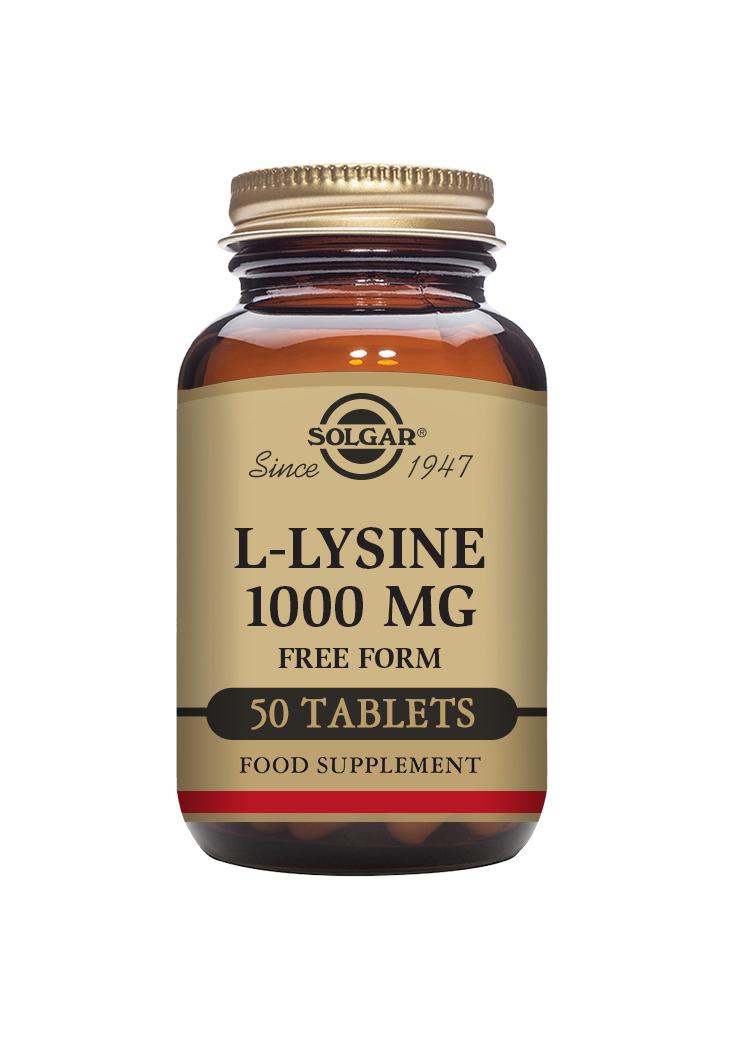 L-Lysine 1000mg 50's