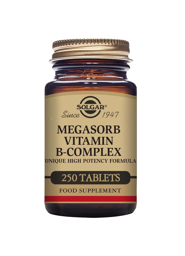 Megasorb Vitamin B-Complex 250's