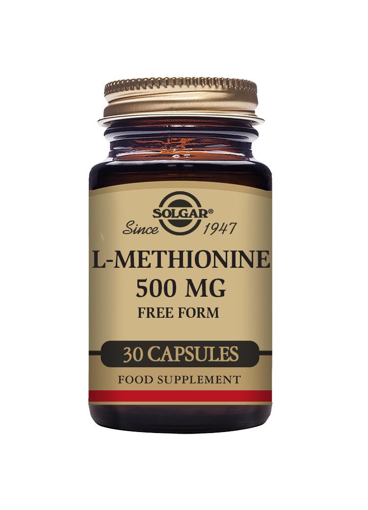L-Methionine 500mg 30's
