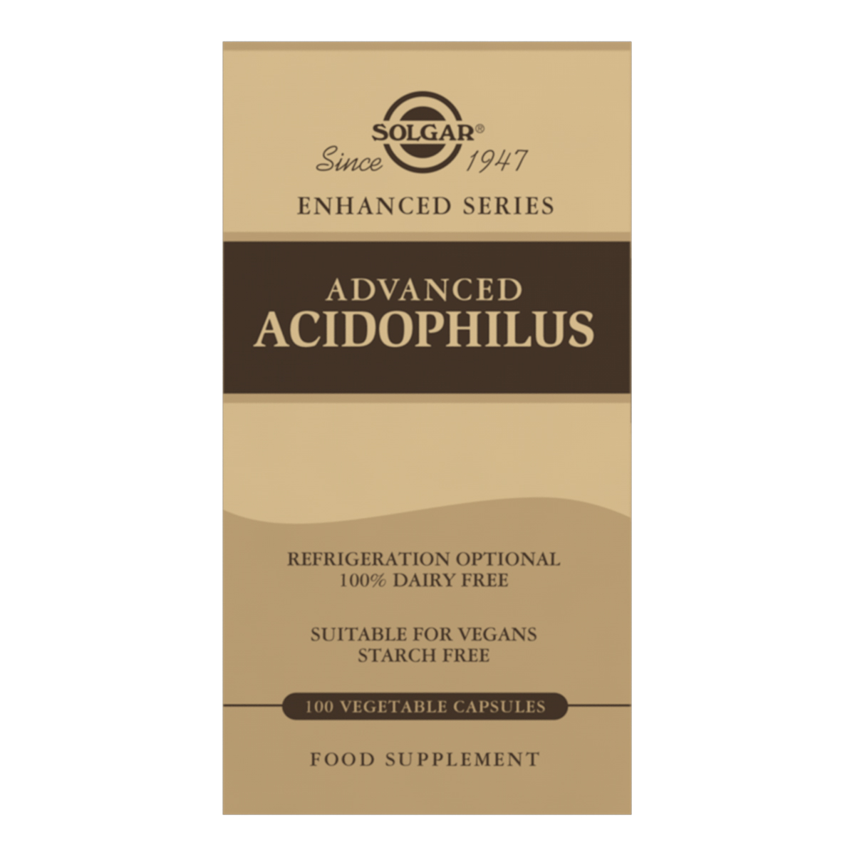 Advanced Acidophilus 100% Dairy Free 100's