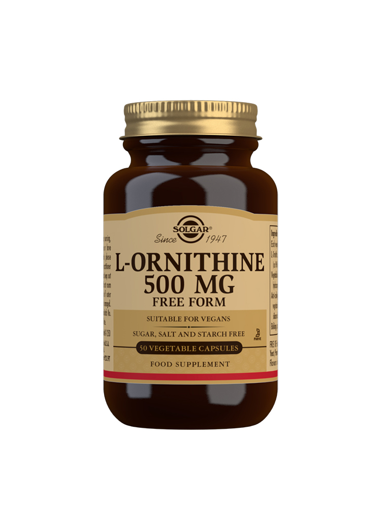 L-Ornithine 500mg 50's