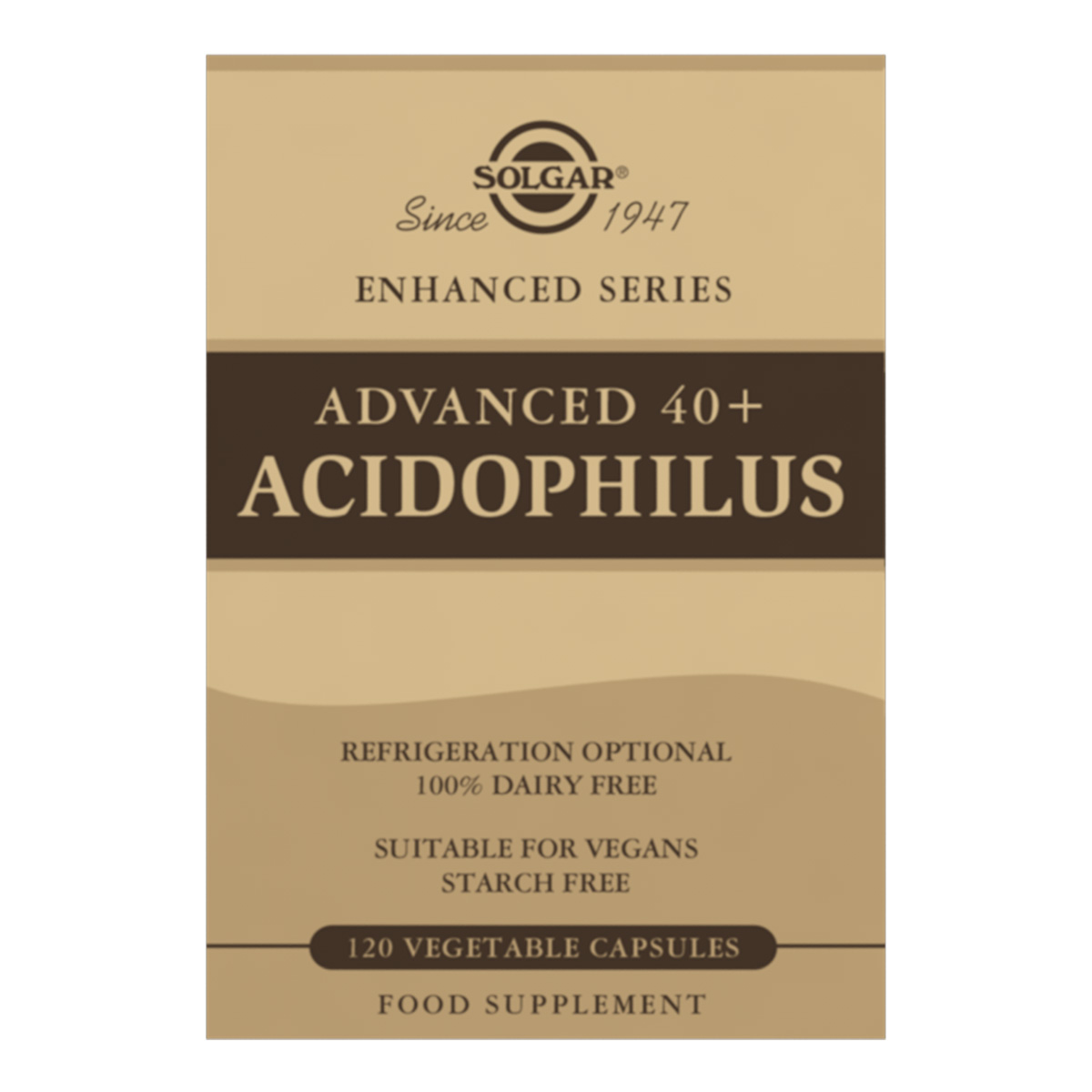 Advanced 40+ Acidophilus 120's (Currently Unavailable)