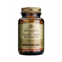 Vitamin E with Yeast Free Selenium 50's