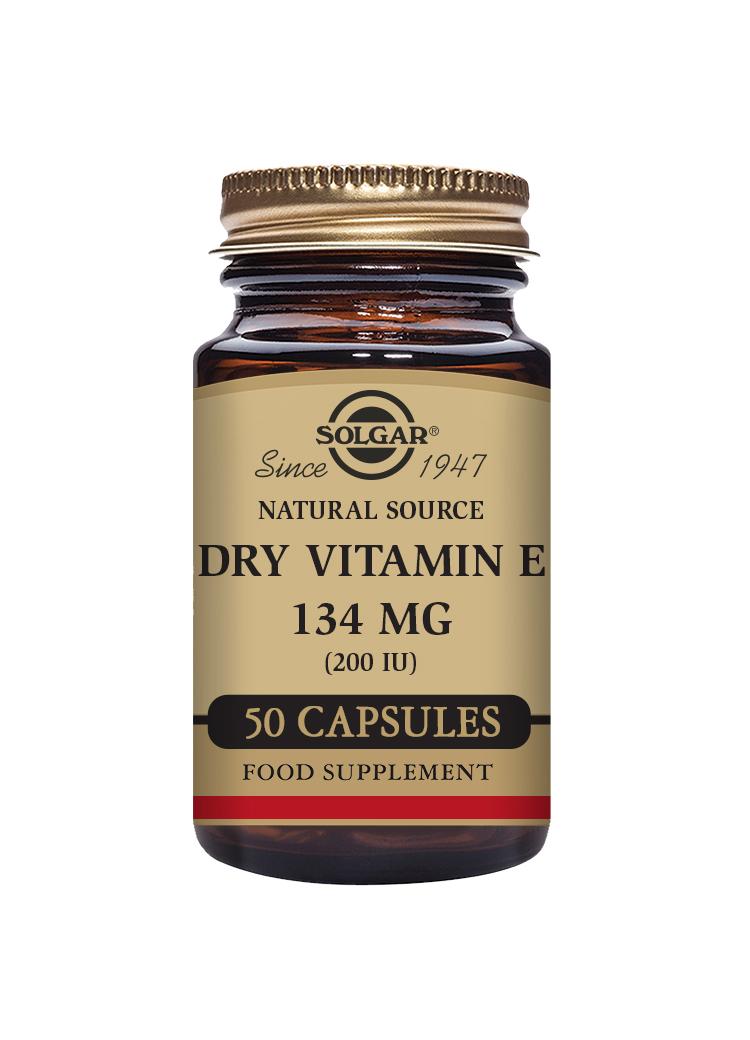Dry Vitamin E 134mg (200iu) 50's