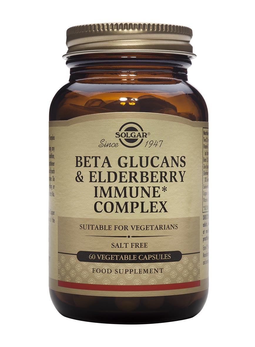 Beta Glucans & Elderberry Immune Complex 60's