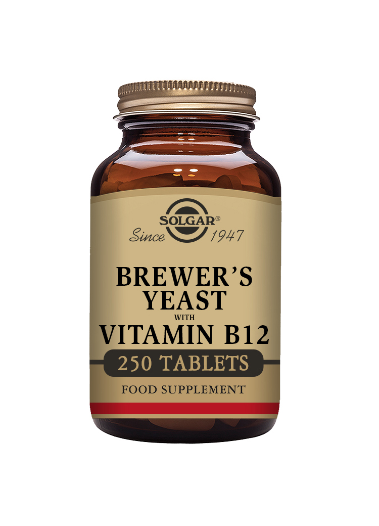 Brewer's Yeast with Vitamin B12 250's