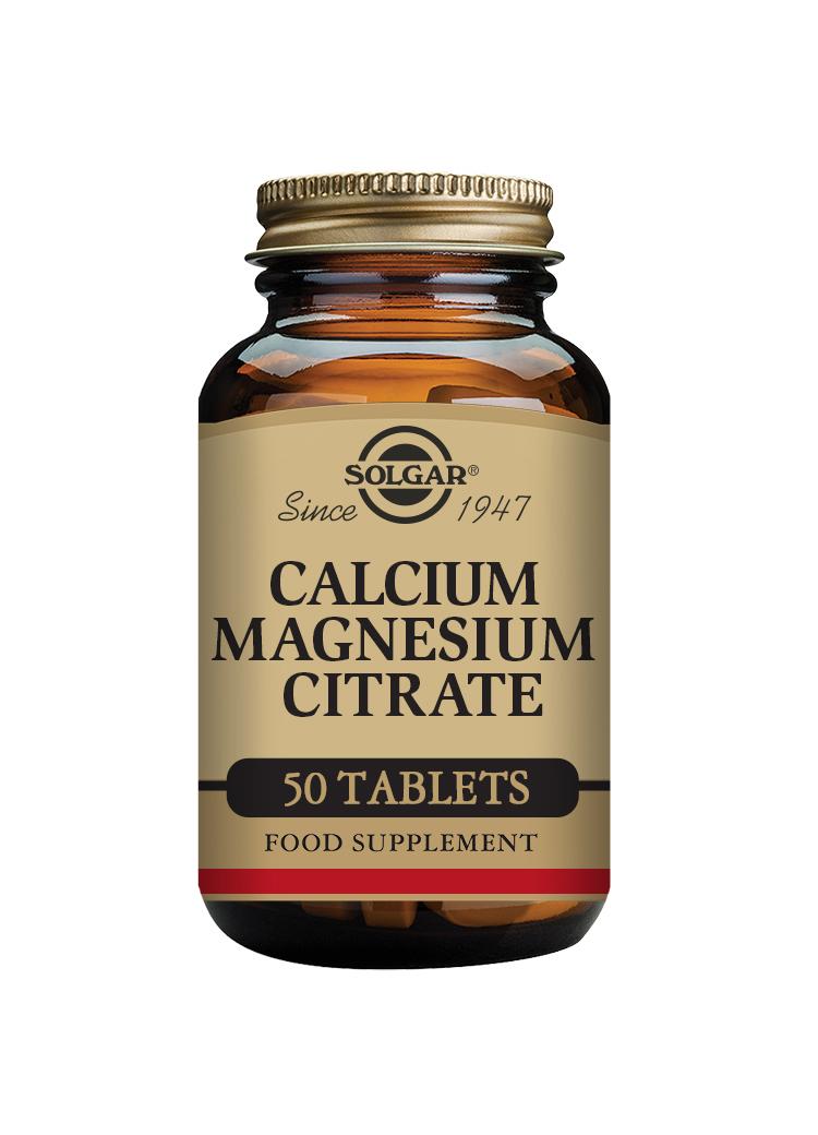 Calcium Magnesium Citrate 50's