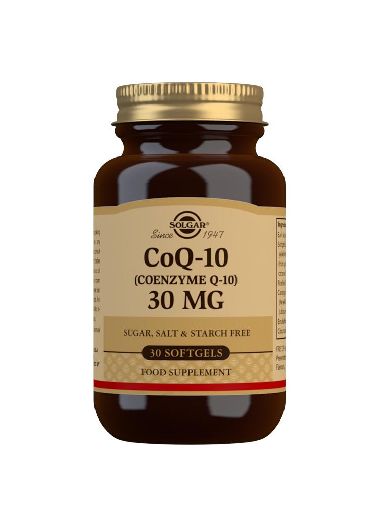 CoQ-10 30mg 30's SOFTGELS