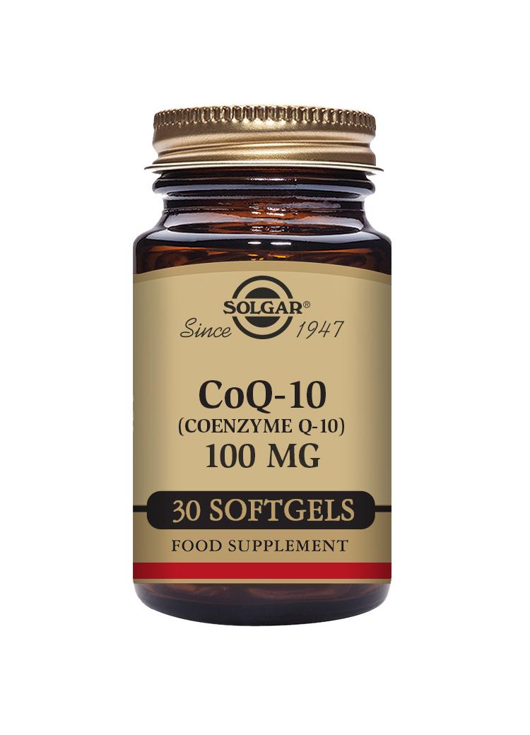 CoQ-10 100mg 30's SOFTGELS