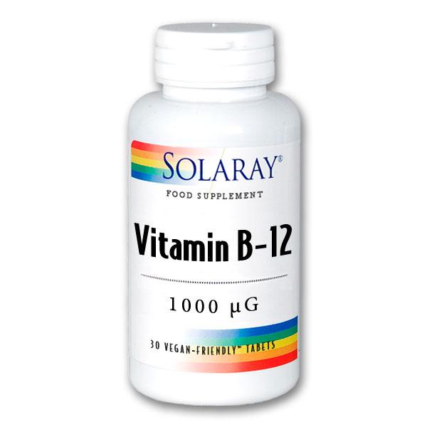 Vitamin B-12 1000mcg 30's