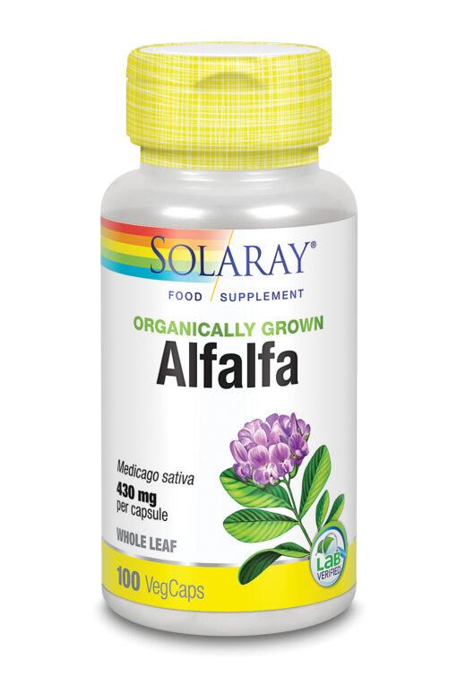 Organically Grown Alfalfa Leaf 100's