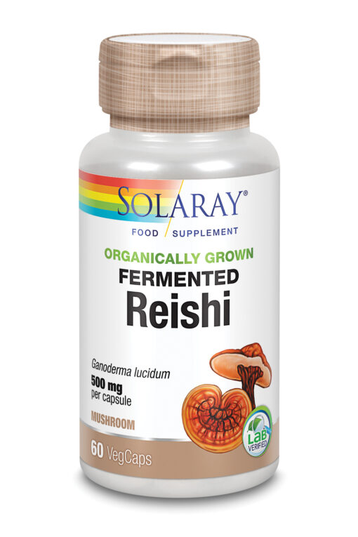 Organically Grown Fermented Reishi Mushroom 60's