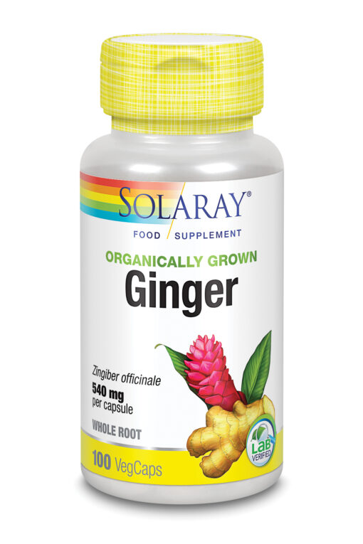 Organically Grown Ginger 100's