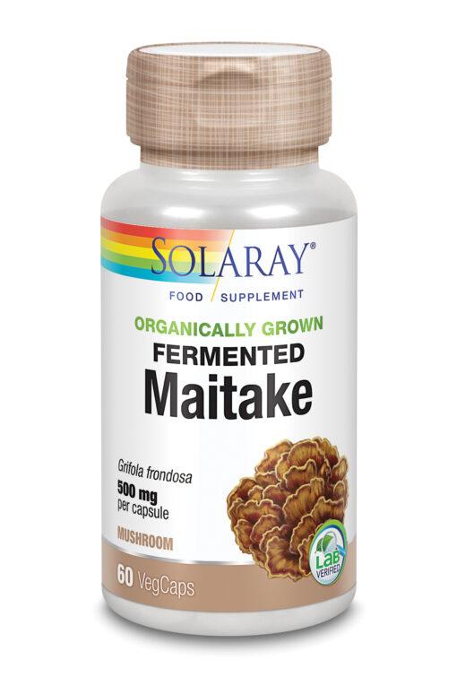 Organically Grown Fermented Maitake Mushroom 60's