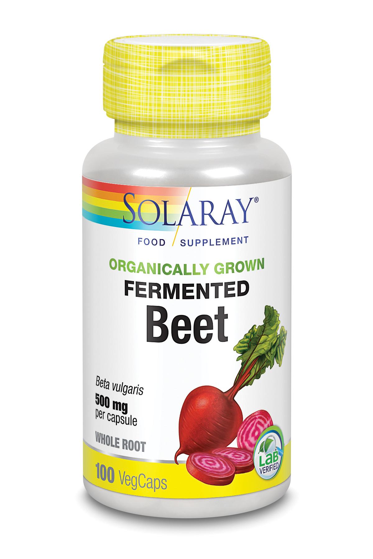 Organically Grown Fermented Beet 100's