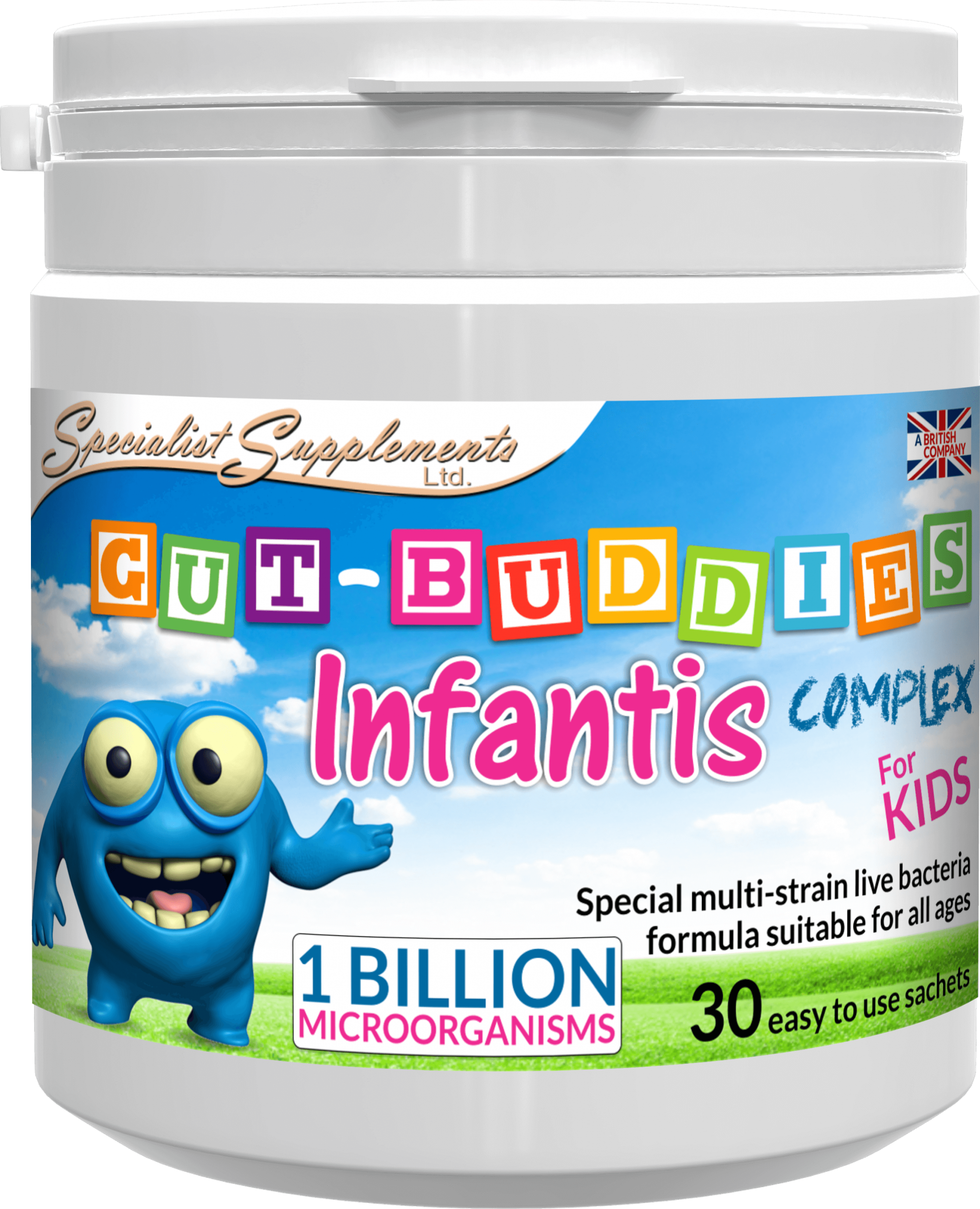 Gut-Buddies Infantis Complex 30's