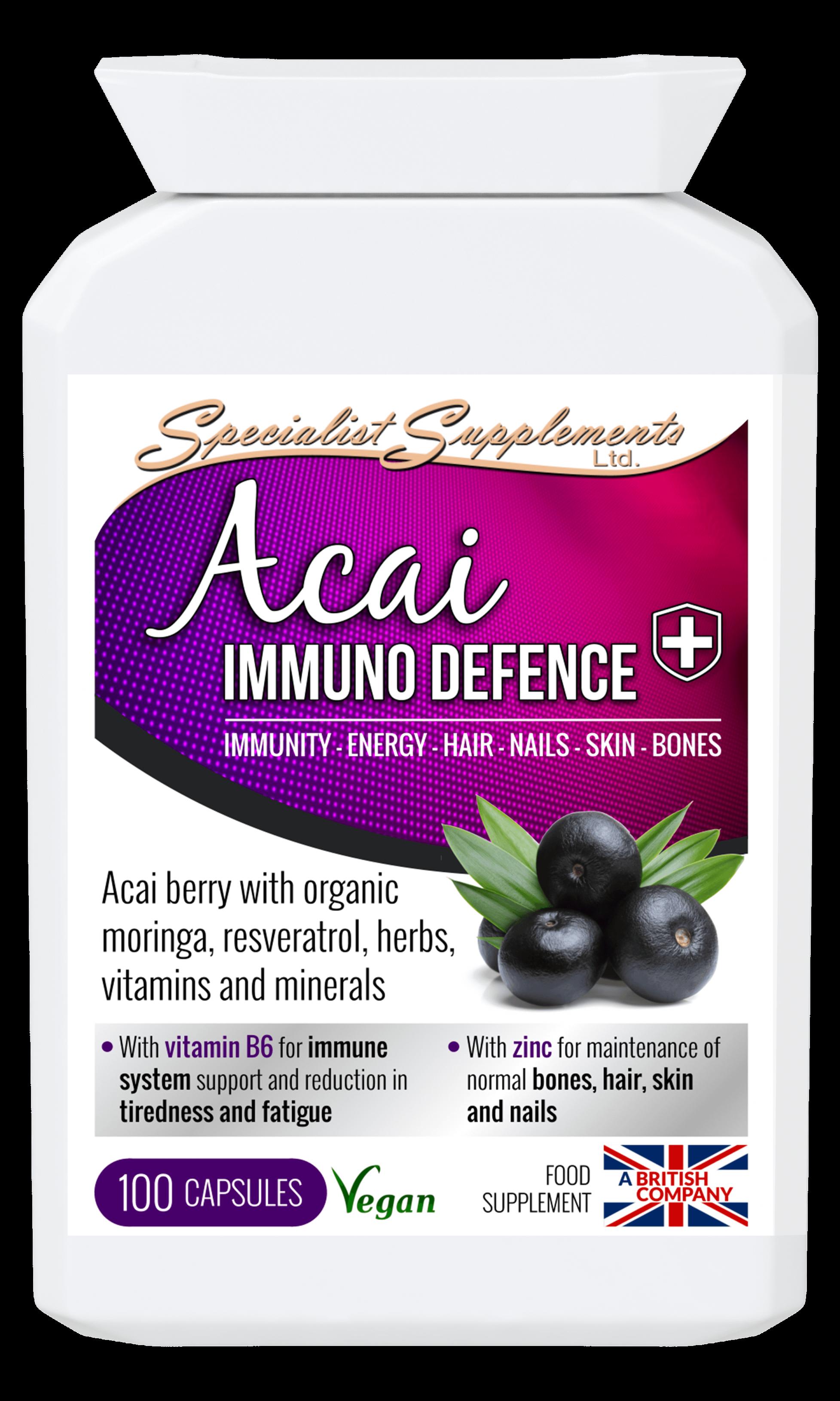 Acai Immuno 100's