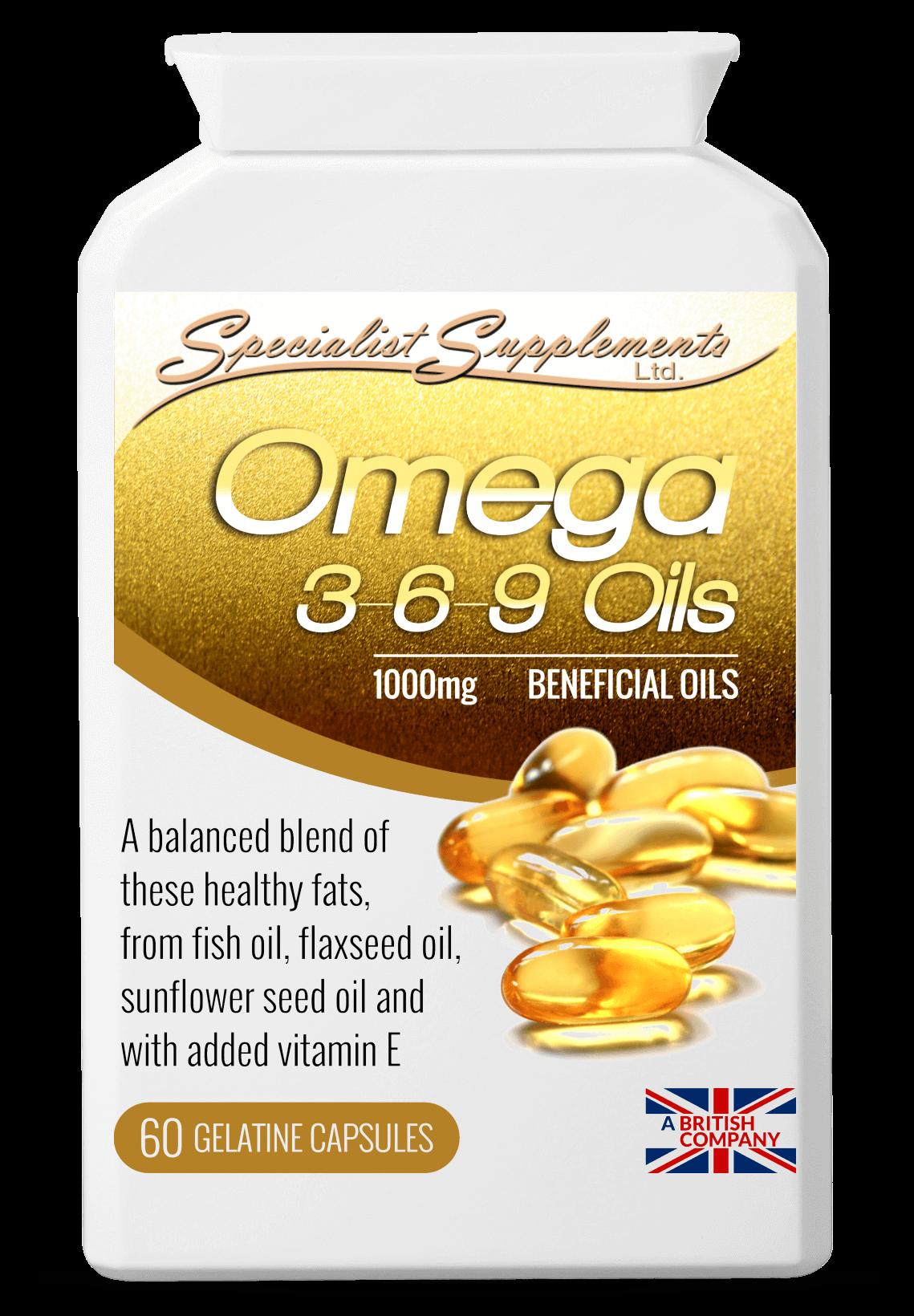 Omega 3-6-9 Oils 60's