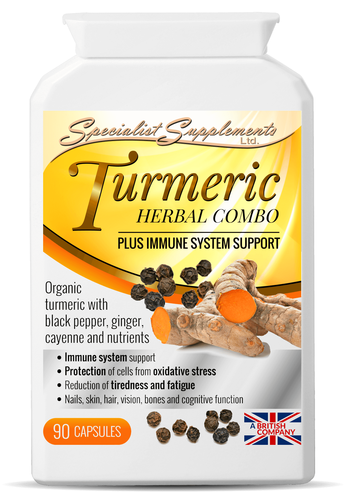 Turmeric Herbal Combo 90's