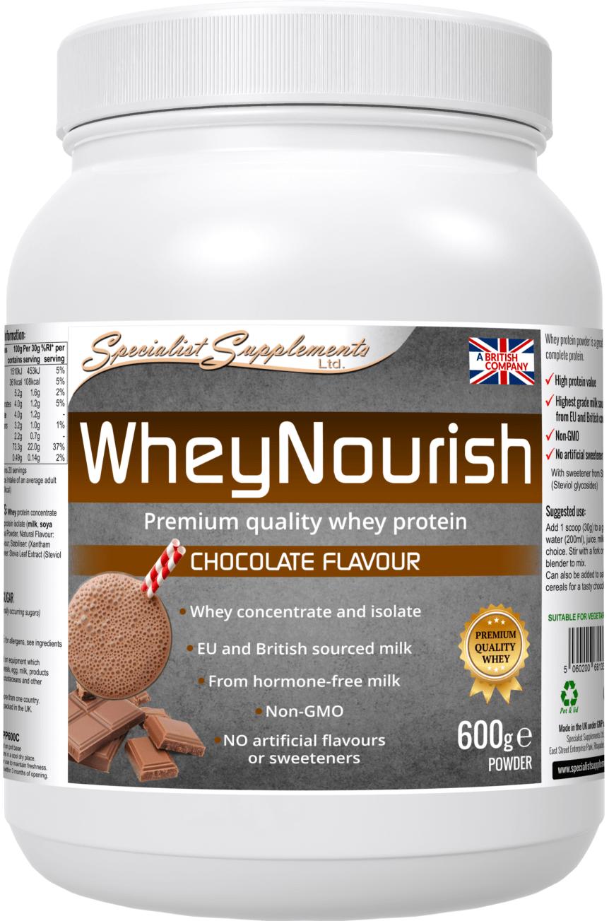 WheyNourish Chocolate 600g