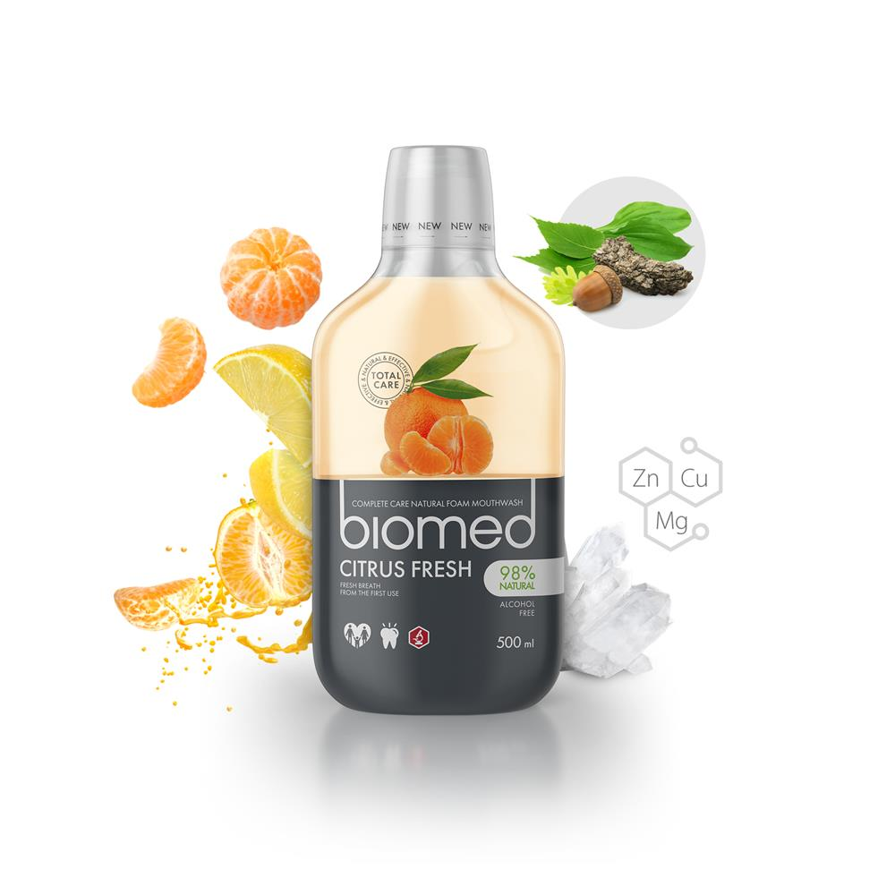 Biomed Citrus Fresh Mouthwash 500ml (Currently Unavailable)