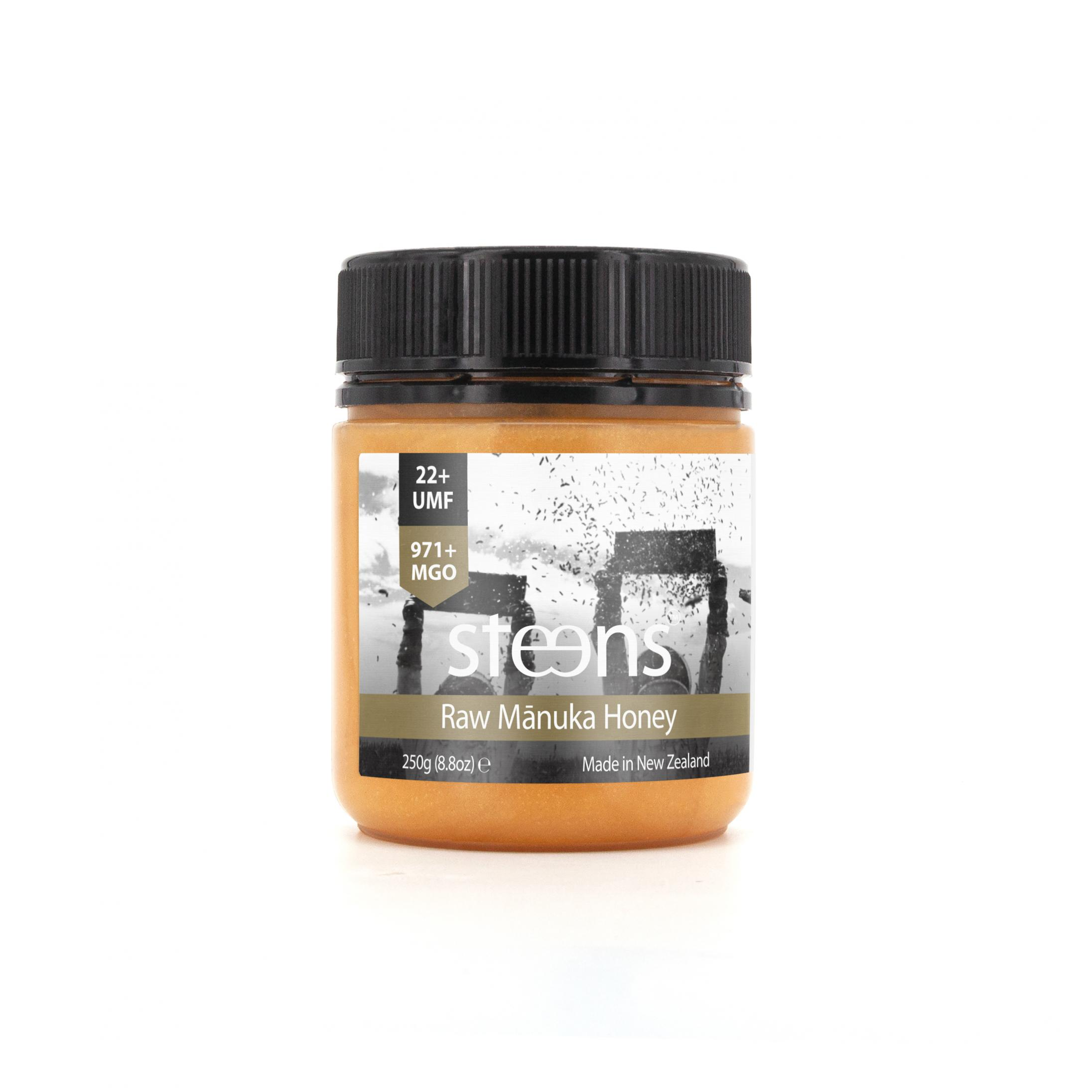 Raw Manuka Honey UMF22+ MGO 971+ 250g