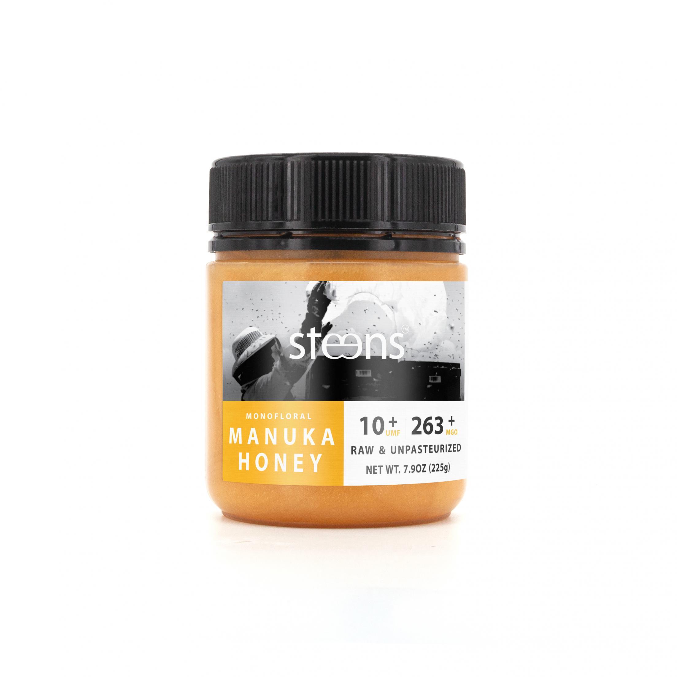 Monofloral Manuka Honey UMF10+ MGO 263+ 225g