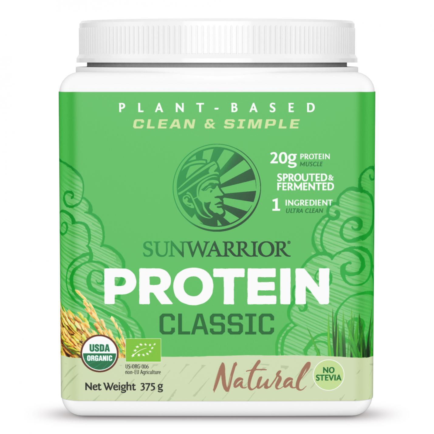 Protein Classic Natural 375g (Green Tub)