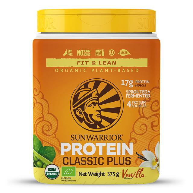 Protein Classic Plus Vanilla 375g (Orange Tub) (Currently Unavailable)