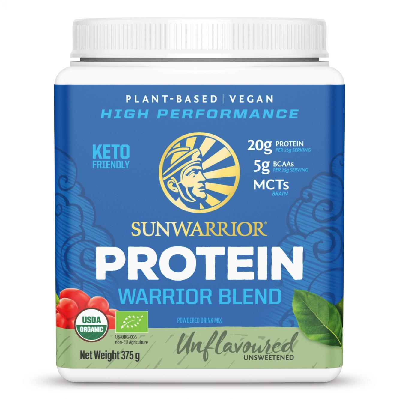 Protein Warrior Blend Natural 375g (Blue Tub)