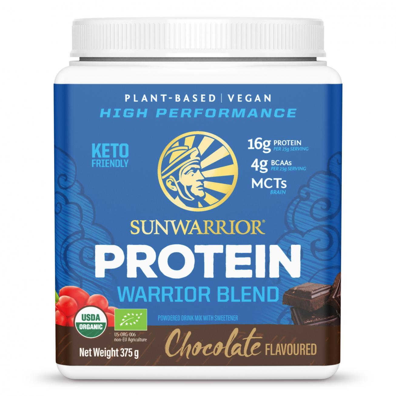 Protein Warrior Blend Chocolate 375g