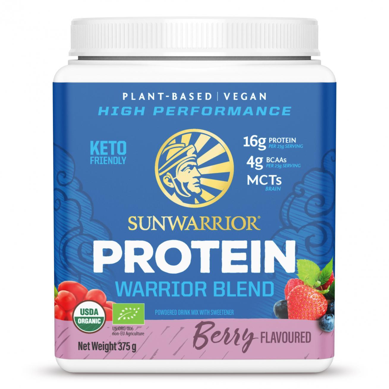 Protein Warrior Blend Berry 375g (Blue Tub)