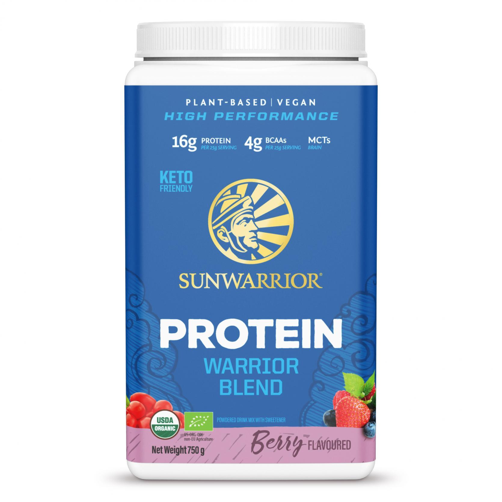 Protein Warrior Blend Berry 750g (Blue Tub)