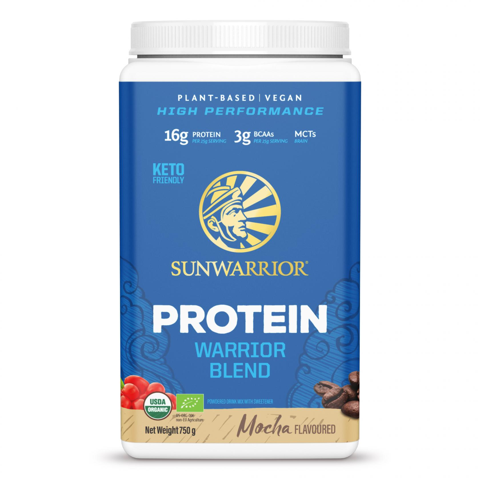 Protein Warrior Blend Mocha 750g (Blue Tub) (Currently Unavailable)